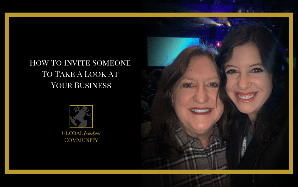How to Invite Someone to Take a Look at Your Network Marketing Business